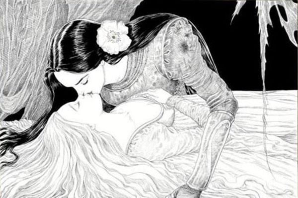 la única condición era que el beso fuera de amor verdadero