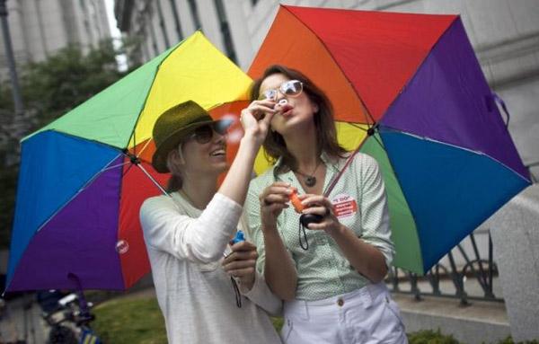 Estos paraguas van perfectos para aguantar