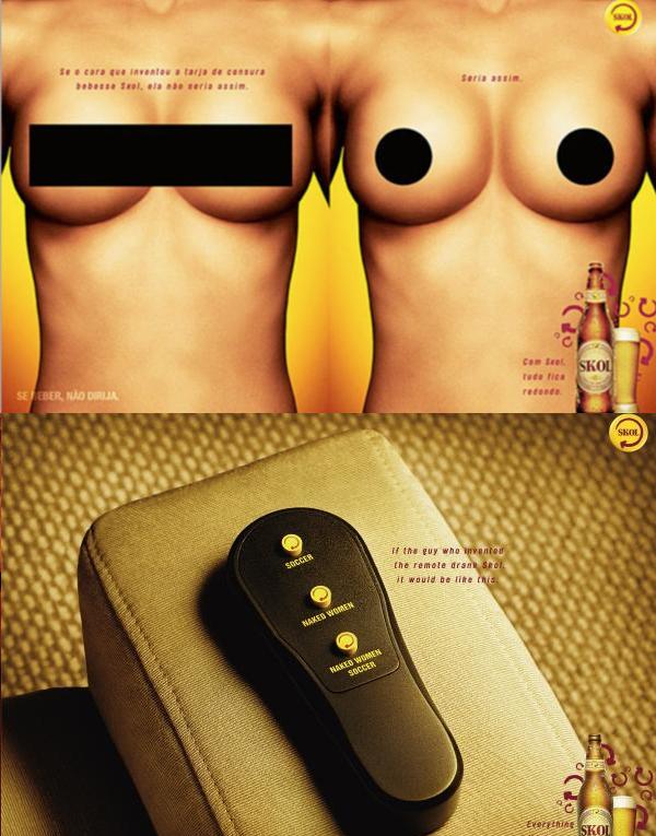 ¿Habrán sido capaces de hacer un solo anuncio que no sea sexista?