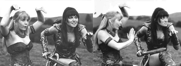 Ritual de apareamiento de la lesbiana común.
